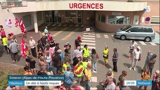 Urgences : des services en péril cet été