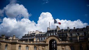 Le palais de l'Elysée, à Paris, le 21 mai 2019. (XOSE BOUZAS / HANS LUCAS / AFP)