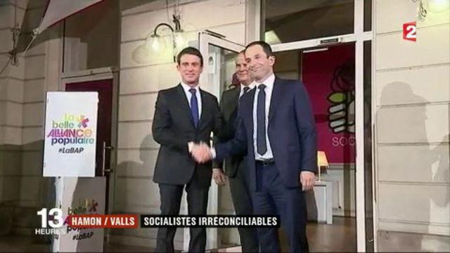 Hamon / Valls : deux socialistes aujourd'hui irréconciliables