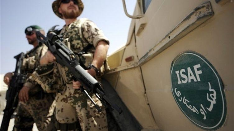 Force internationale d'assistance à la sécurité (Isaf ) de l'Otan. (© AFP/Michael Kappeler)