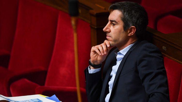 Le député LFI de la Somme François Ruffin sur les bancs de l'Assemblée nationale le 17 février 2020. (CHRISTOPHE ARCHAMBAULT / AFP)