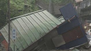 Japon : la ville d'Atami touchée par une coulée de boue meurtrière. (FRANCEINFO)