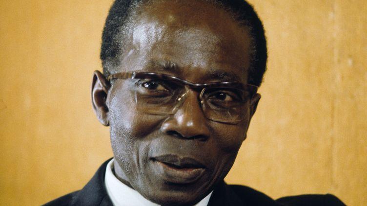Léopold Sédar Senghor en 1974  (Bernard Allemane / Ina)