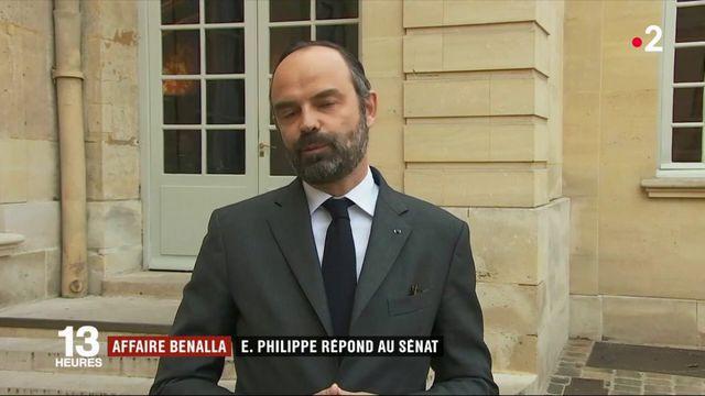 Affaire Benalla : après le rapport du Sénat, l'exécutif contre-attaque
