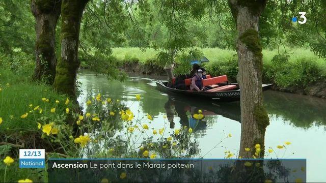 Pont de l'Ascension : comme un avant-goût de vacances dans le Marais Poitevin