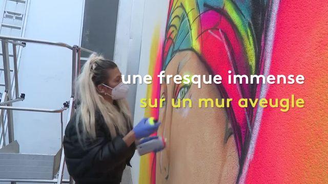 Juliette, graffeuse
