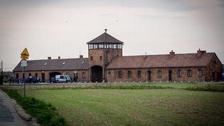 Le camp d'extermination d'Auschwitz-Birkenau, le 16 avril 2015 en Pologne. (CITIZENSIDE /CLAUDE  TRUONG-NGOC / AFP)