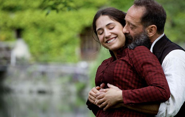 """Izïa Higelin et Vincent Lindon dans """"Rodin"""" de Jacques Doillon  (Shanna Besson / Les Films du Lendemain)"""
