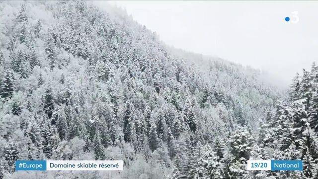 Montagne : en Allemagne, des skieurs profitent d'un domaine privatisé