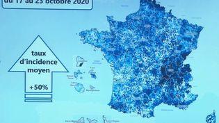 Covid-19 : l'évolution de l'épidémie en France (FRANCE 2)