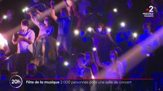 Fête de la musique : 2 000 personnes dans une salle de concert