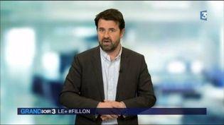 François Fillon est la cible des internautes sur les réseaux sociaux. (FRANCE 3)