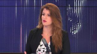 Marlène Schiappa, ministre déléguée chargée de la Citoyenneté. (FRANCEINFO / RADIOFRANCE)