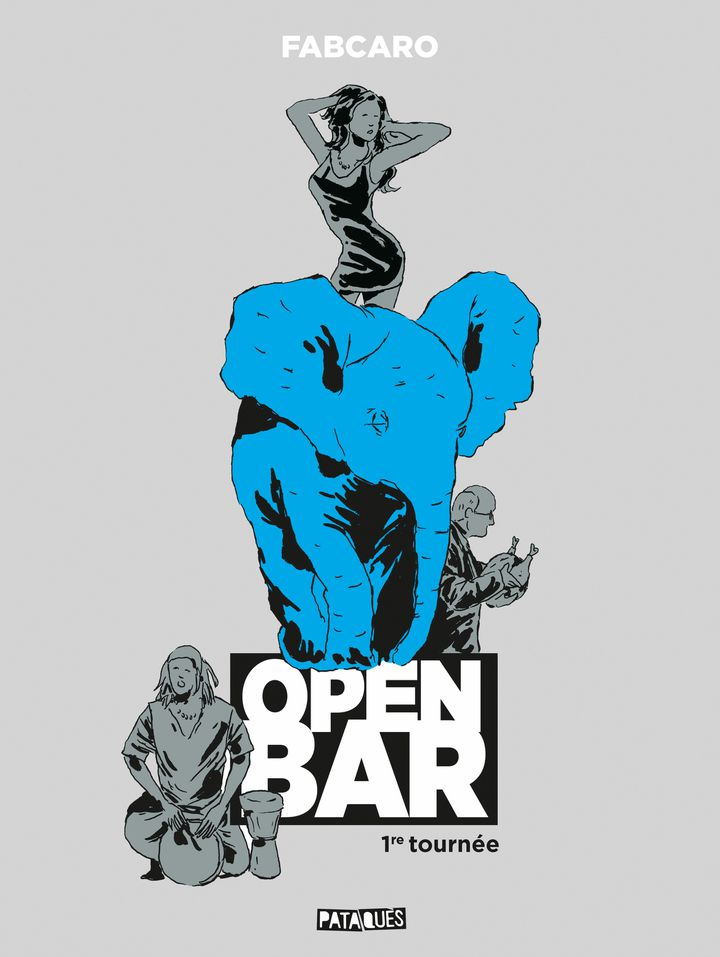 "Couverture de ""Open bar"" (Pataquès/Delcourt) (Fabcaro)"