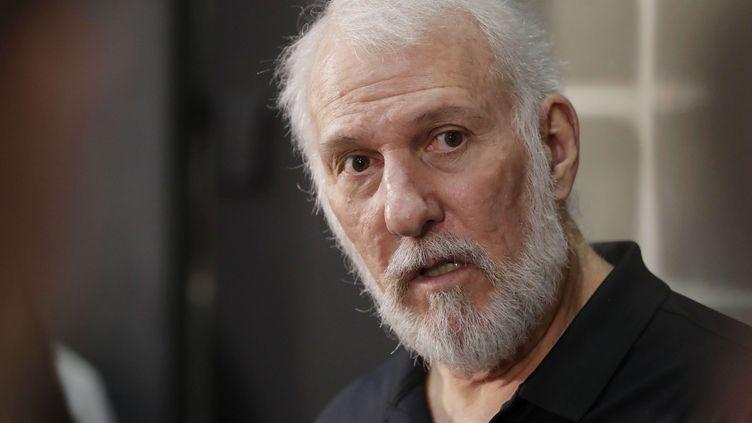 Gregg Popovich, l'entraîneur de San Antonio (ERIC GAY/AP/SIPA / AP)