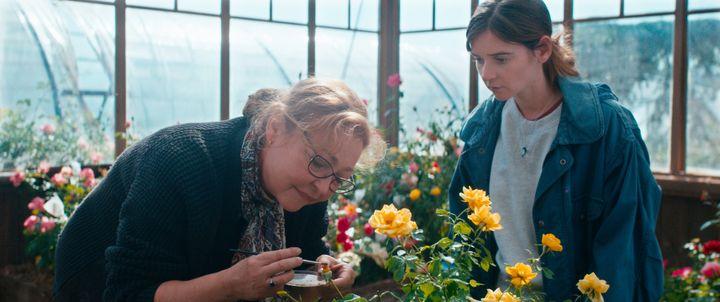 """Catherine Frot et Marie Petiot dans """"La fine fleur"""", de Pierre Pinaud, juin 2021 (Estrella Productions)"""