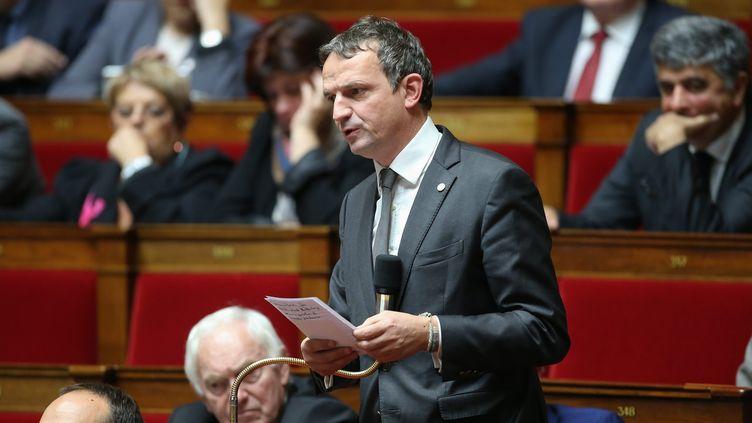 Le député LREM des Bouches-du-Rhône, François-Michel Lambert, à l'Assemblée nationale en 2016. (MAXPPP)