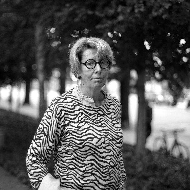 Nadine Ribet-Reinhart. (DAVID FRITZ-GOEPPINGER POUR FRANCEINFO)