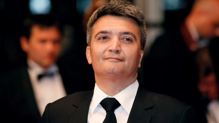 """Le producteur Thomas Langmann lors d'uneprojection de """"Mon roi"""", le 17 mai 2015 au Festival de Cannes (Alpes-Maritimes). (VALERY HACHE / AFP)"""