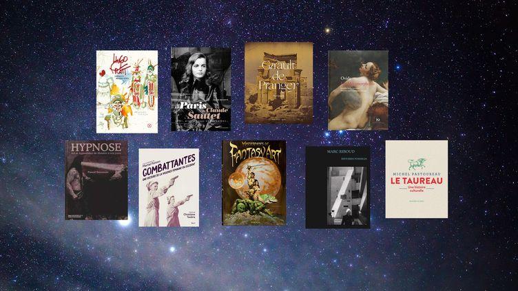 Couvertures des beaux livres à offrir à Noël, 2020 (FRANCEINFO)
