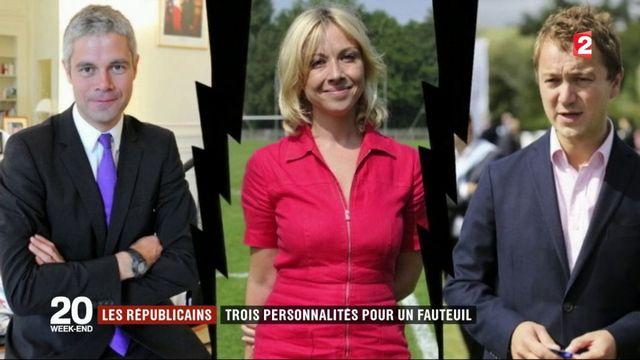 Présidence des Républicains : trois personnalités pour un seul fauteuil