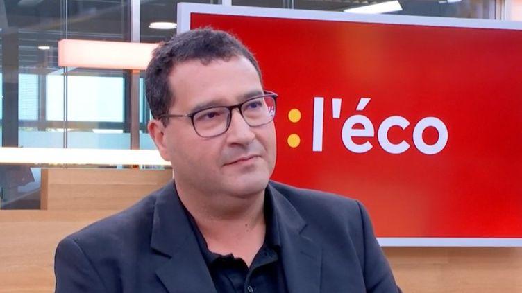 Christian Ben Lakhdar, professeur d'économie à l'université de Lille, le 2 octobre 2019 sur franceinfotv. (FRANCEINFO)