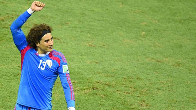 Le portier mexicain Guillermo Ochoa a été le héros de la rencontre face au Brésil