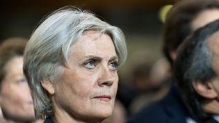 Penelope Fillon, lors du meeting de son mari, le 29 janvier 2017, à Paris. (CITIZENSIDE/SERGE TENANI / AFP)