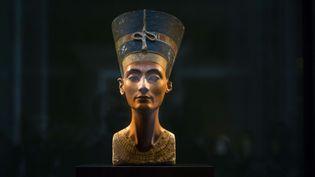 Le buste de la reine Nefertiti, exposé au Neues Museum de Berlin  (Markus Schreiber/AP/SIPA)