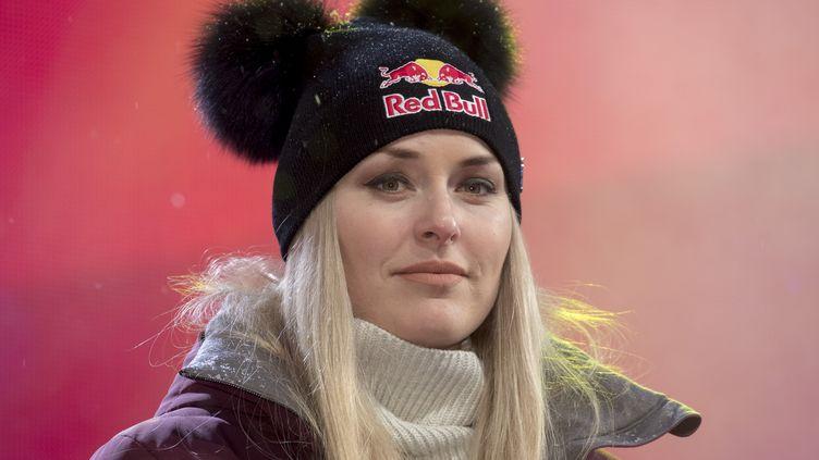 La skieuse américaine Lindsey Vonn (MICHAEL KAPPELER / DPA)