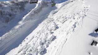 """Le risque d'avalanches """"persiste"""" en montagne, notamment en Savoie. (MAXPPP)"""