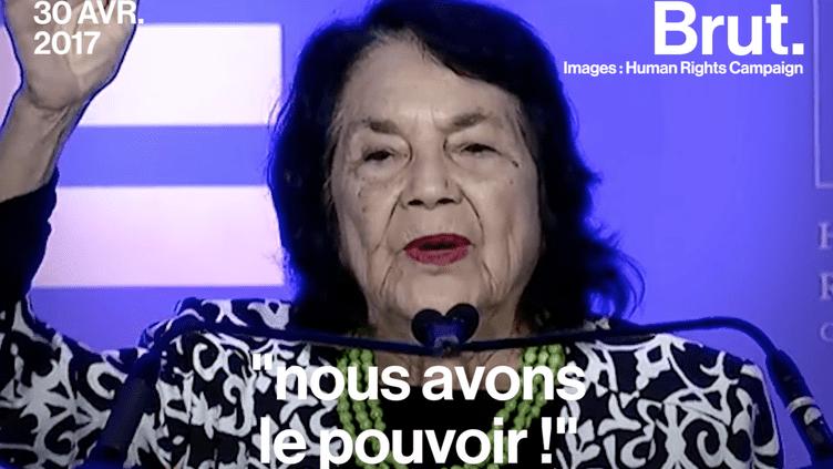 Dolores Huerta, une militante de tous les fronts (Brut.)