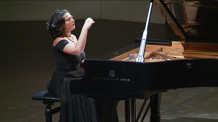 la pianiste Khatia Buniatishvili (France 3 Provence-Alpes)