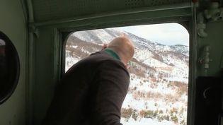 """Le """"Transsibérien"""" italien offre un voyage dans le temps. Il traverse les Abruzzes (Italie) enneigées. (FRANCE 2)"""