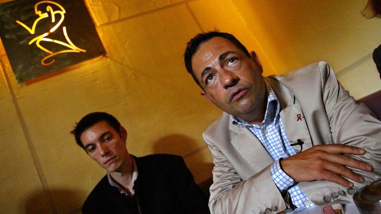 Jean-Luc Romero, président de l'associationÉlus locaux contre le sida (MEHDI FEDOUACH / AFP)