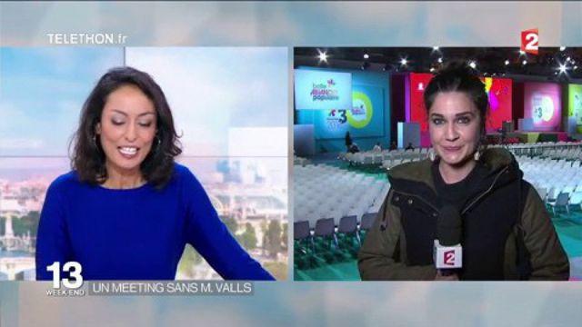 Primaire de la gauche : Manuels Valls absent au meeting de La Villette
