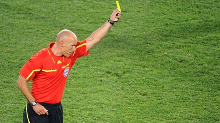 L'arbitre anglais Howard Webb