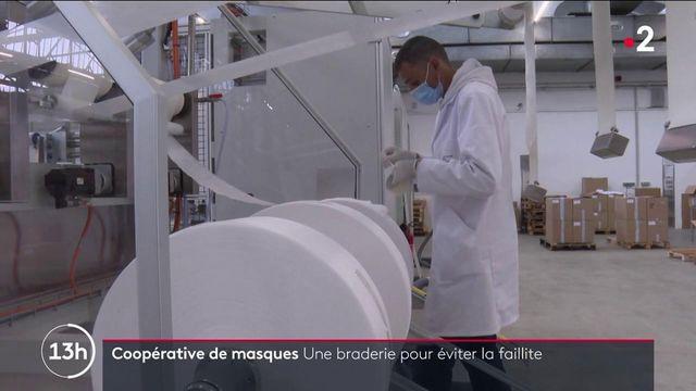 Masques sanitaires : les entreprises françaises en difficulté face à la concurrence asiatique