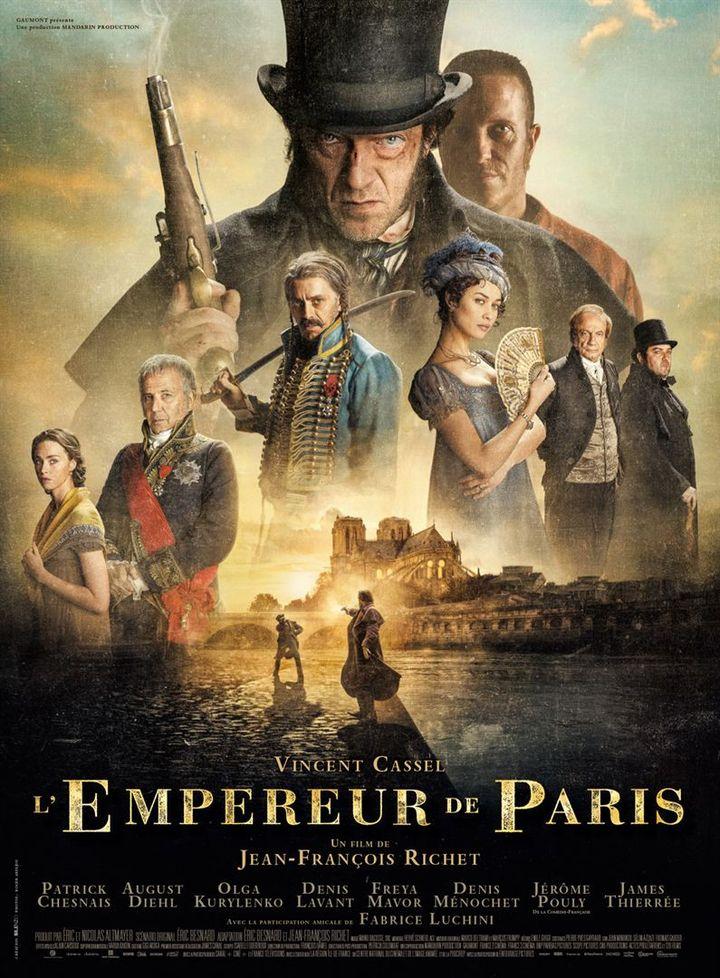 """L'affiche de """"L'Empereur de Paris"""", un film de Jean-François Richet qui sort le 19 décembre 2018. (GAUMONT DISTRIBUTION)"""