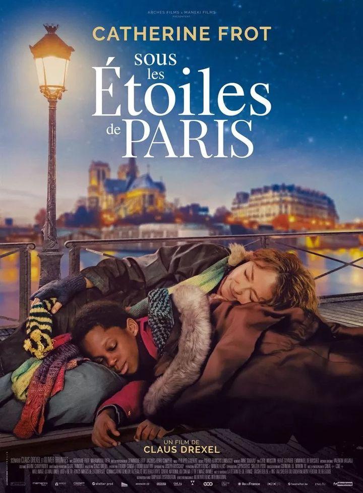 """L'affiche de""""Sous les étoiles de Paris"""" deClaus Drexel. (Diaphana Distribution)"""