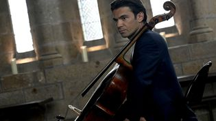 Gautier Capuçon, violoncelliste, ci-contre le 19 août 2020. (STEPHANE GEUFROI / MAXPPP)