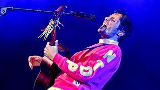 Le chanteur Vianney au festival de la Côte d'Opale à Boulogne-sur-Mer (PHOTOPQR/VOIX DU NORD/MAXPPP)