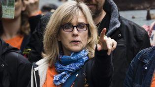 Muriel Arnal, présidente fondatrice de One Voice, le 5 octobre 2019. (VINCENT ISORE / MAXPPP)