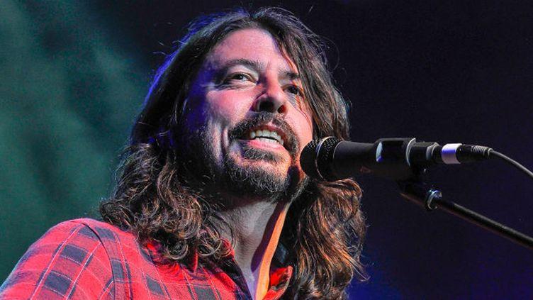 Dave Grohl des Foo Fighters le 15 mai 2017 au Fillmore de San Francisco pour le concert de charité Acoustic-4-A-Cure.  (Steve Jennings/WireImage/Getty Images)
