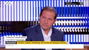 Le cancérologue Claude Maylin (FRANCEINFO)