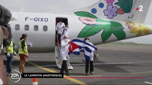 Martinique : des soignants cubains sont arrivés en renfort