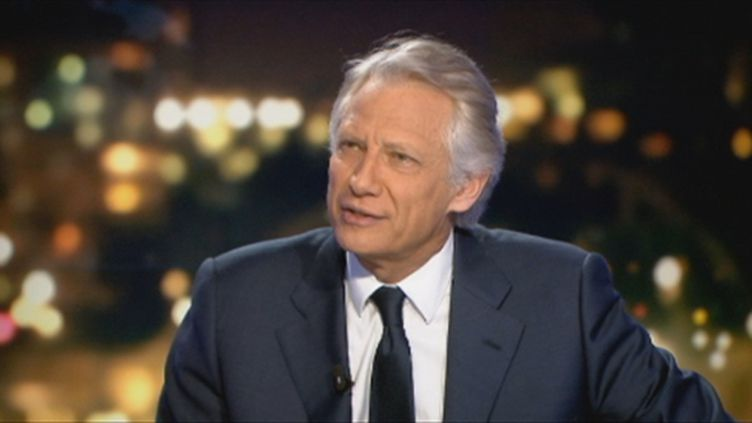 Villepin sur France 2 jeudi 15 mars 2012 (FTV)