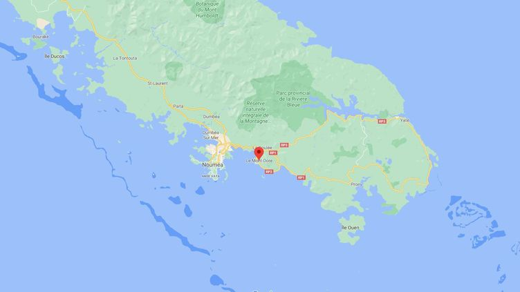 Une mère et sa fille de 16 ans ont été abattues à Vallon-Dore, en banlieue de Nouméa (Nouvelle-Calédonie), le 3 janvier 2020. (GOOGLE MAPS)
