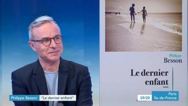 Philippe Besson, sur le plateau de  France 3 Paris-Ile-de-France