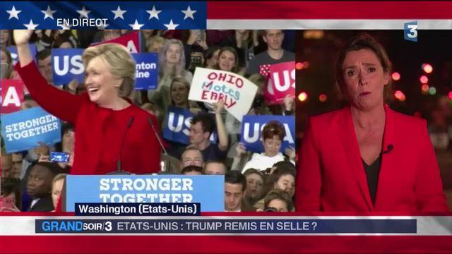 Présidentielle américaine : le camp d'Hillary Clinton gagné par le doute